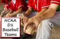 NCAA D1 Baseball Team players