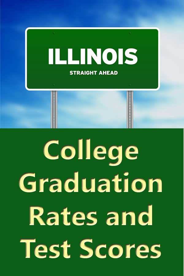 The average four-year graduation rate for private Illinois colleges is 47% and the five-year rate for public-institutions with available information is 41.3%. A total of 21 schools meet the DIY College Rankings 50-50 profile requirements.