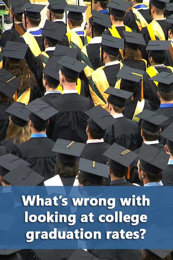 Why you should include comparing college graduation rates as part of your college search.
