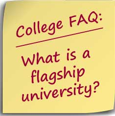 Postit What is a flagship university