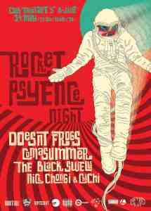 Rocket Psyence Poster