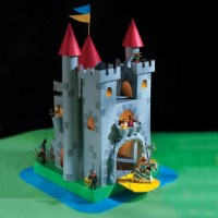 How to make a Cardboard Castle!