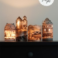 How To Make Night Light Houses