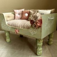 9 Fabulous Pet Bed Ideas From Old Furniture