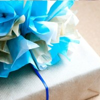 How to Make Tissue Paper Bows