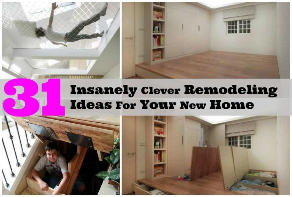 Totally Creative Remodeling Ideas For A Brand New Home