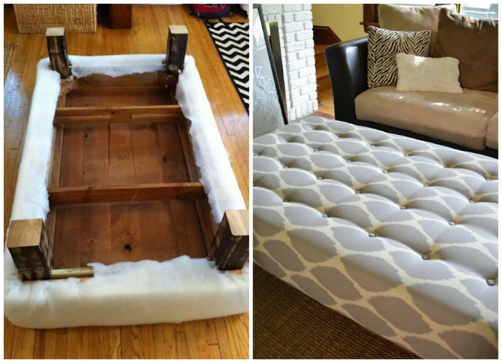 Long Ottoman Coffee Table