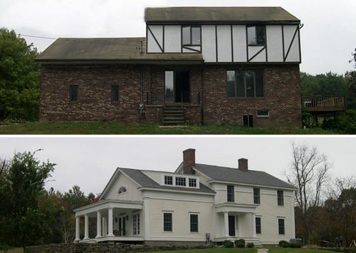 10 Jaw Dropping Exterior Home Makeovers