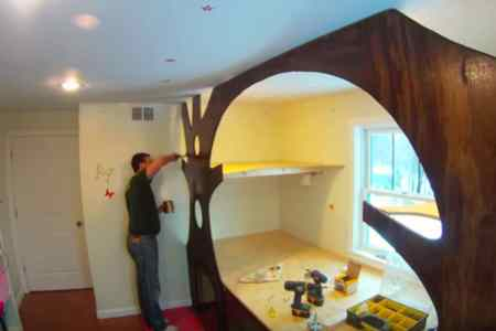 How To Transform Your Child s Bedroom Into A Whimsical Treehouse Treehouse