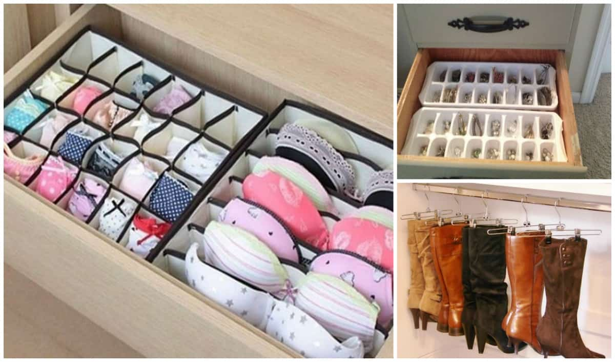 33 Amazing Tips To Keep Your Closet And Dresser Organized