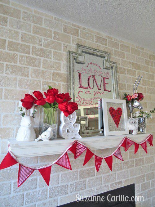 50 Fun And Creative DIY Valentines Decorations That