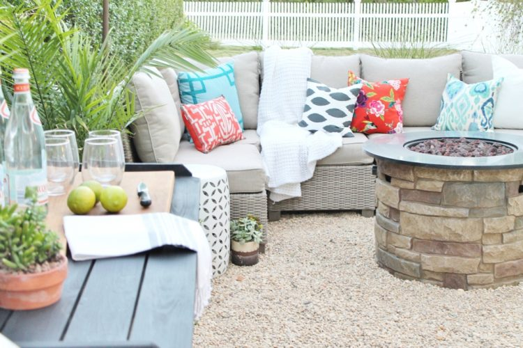 Décor patio DIY