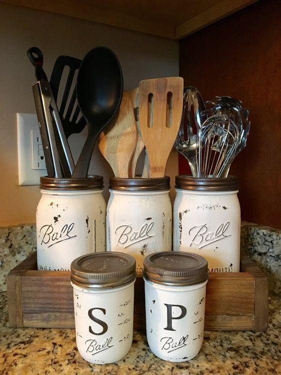 Charming Mason Jar Crafts Part - 9: 50 Cute DIY Mason Jar Crafts U2013 DIY Projects For Anyone