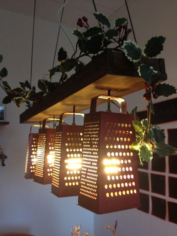 Upcycled Home Decor Ideas Part - 39: 40 Easy Upcycled DIY Home Décor Ideas
