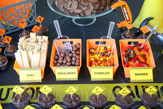 48 Construction Theme Birthday Party Decor And Food Ideas And Favors