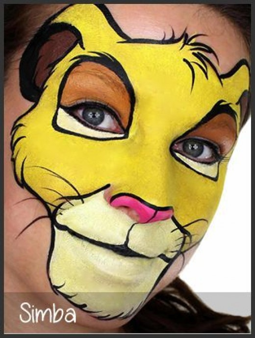 Common Face Painting Designs