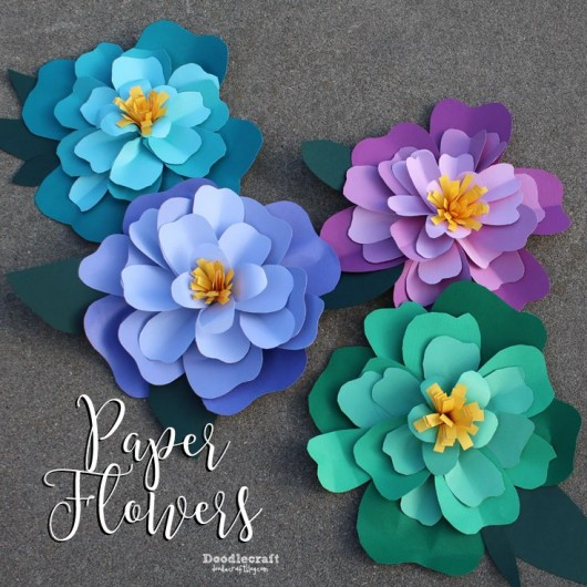 paper flower crafting   Haci saecsa co paper flower crafting