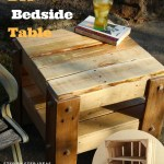 6 Diy Bedside Table Furniture How To Turn Pallets Into Tables