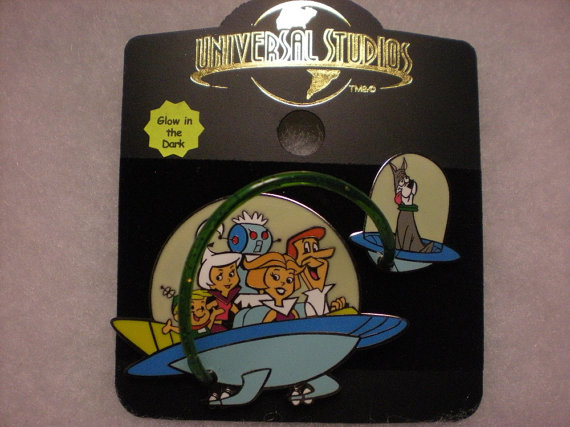 THE JETSONS pin from universal studios by masterengravers