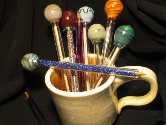 PDF Tutorial for making Reusable and Refillable Boro Glass Pens Intermediate to Advanced by Snowfirebeads