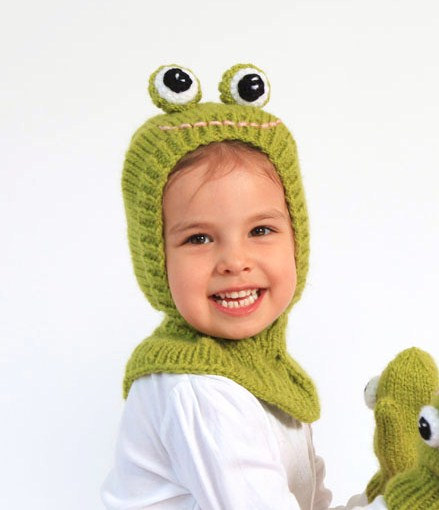 12-36months Green Frog Coverall hat. # 146 by NYrika