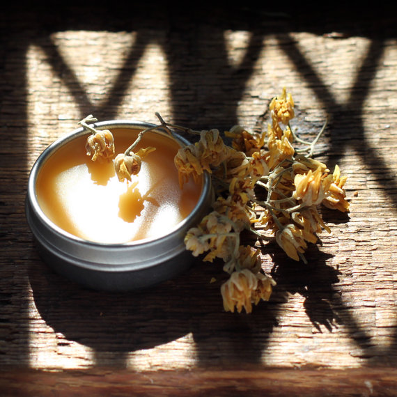 Linden Moon – Solid Perfume Inspired by Gathering Linden Flowers by Moonlight- .25 oz tin by PhoenixBotanicals