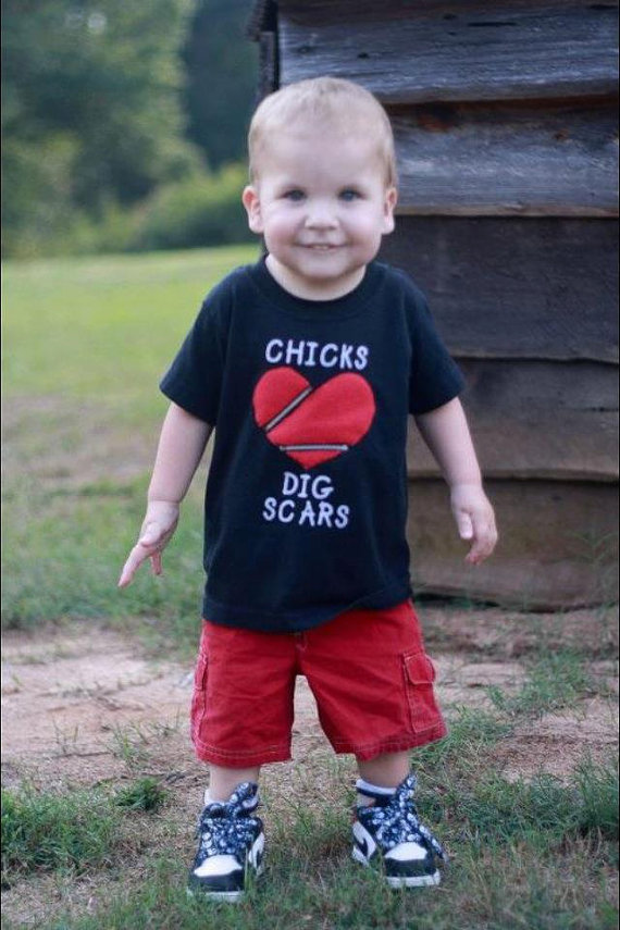 CHD- Chicks / Dudes Dig Scars Shirt by sociallydistorted