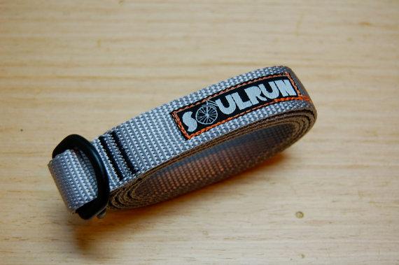 Soulrun Nylon Webbing Belt- Gray by soulrun