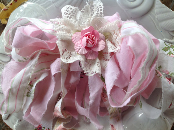 Pastel Pink Aromance – Embellishments – by homesteadtreasures