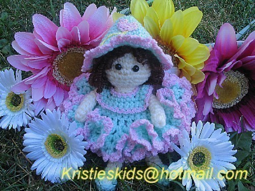 Loveable Libby Fairy Crochet pattern by kristieskids