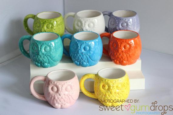 Owl Mug Handmade Ceramic from my Charleston, SC Studio by CreativityHappens