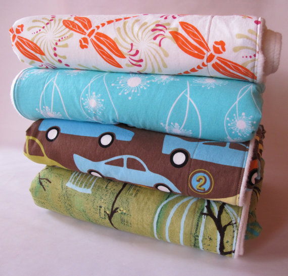 ORGANIC COTTON Choose Your Own BLANKET by rolypolycrafts