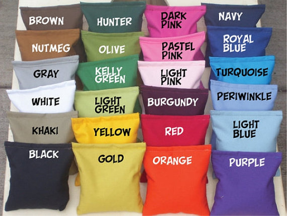 Cornhole bean bags 8 bags regulation for 13.60. I sell my bags to help my children pay down their college tuition. by 4educationtuition