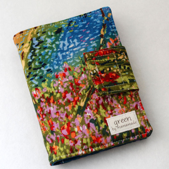 Watercolors – Mini Crayon Case and Art Portfolio- Includes Crayola Crayons and 100-sheet Paper Pad. by mamamade