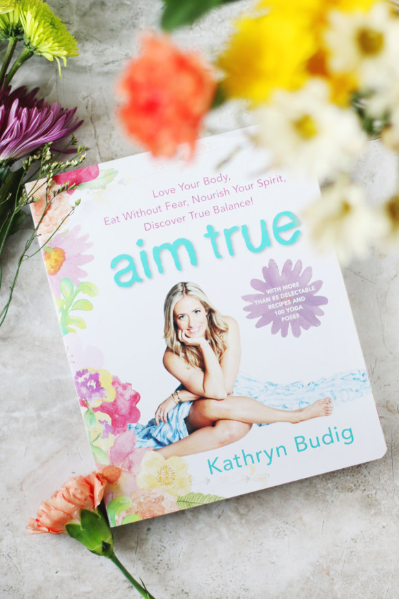 Aim True: Kathryn Budig's New Book + A Homemade Protein Bar Recipe