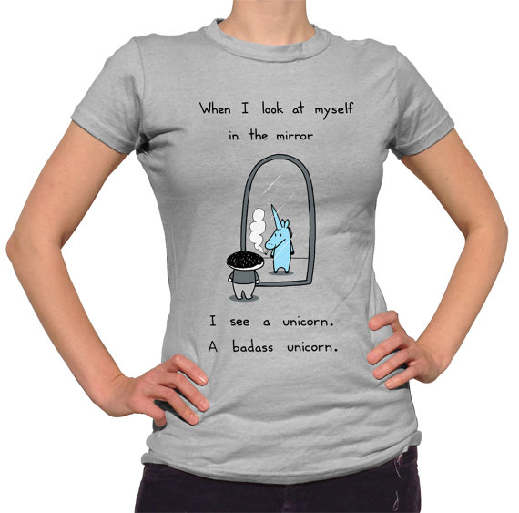 I'm a Unicorn Tshirt – Mens and Ladies Sizes – Cute Funny Unicorn TShirt by bikeparts