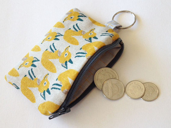 Coin Pouch – fox by NoeiDesigns