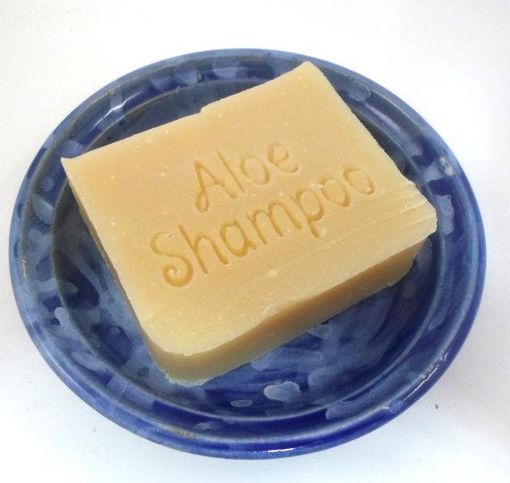 Sesame Aloe Vera Shampoo Bar ON SALE – Formulated for Thin Hair, Sensitive, Dry Flaky Scalp – New vegan formula available by AquarianBath