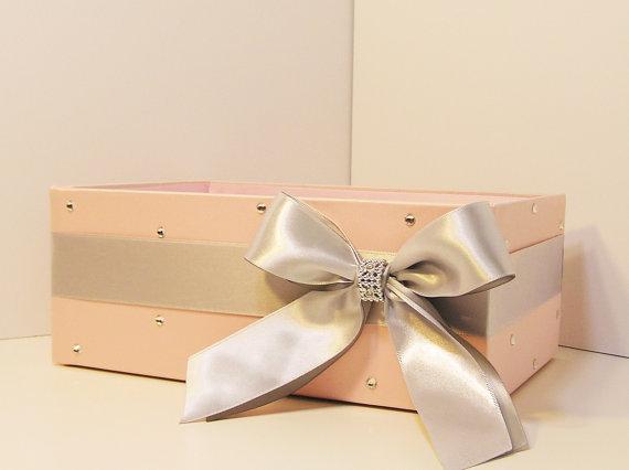 Wedding Program Box Amenities Box Bathroom Accessories Box handkerchiefs Box – Customize your color (One Box) by bwithustudio
