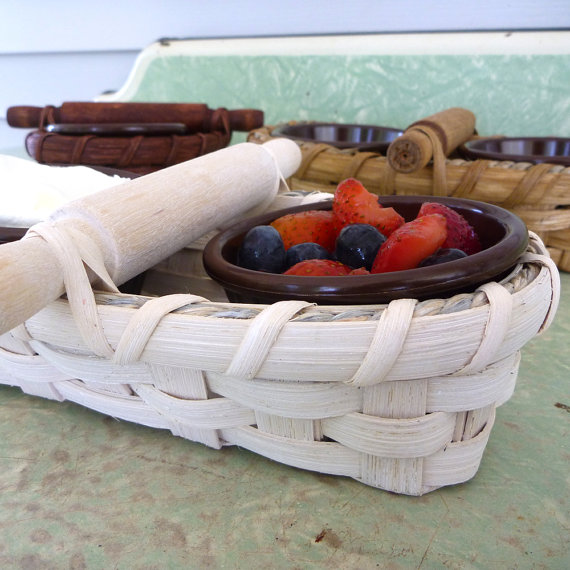 Double Dip Basket by JoannasCollections
