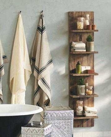 estanterias tableros baño