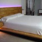 Diy Platform Bed With Floating Night Stands Diy Creators