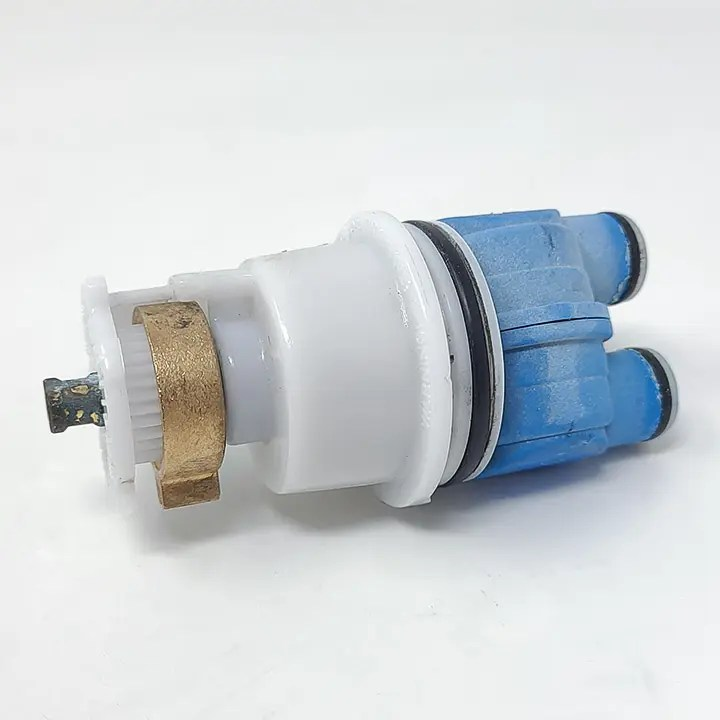 My old leaking shower faucet cartridge.