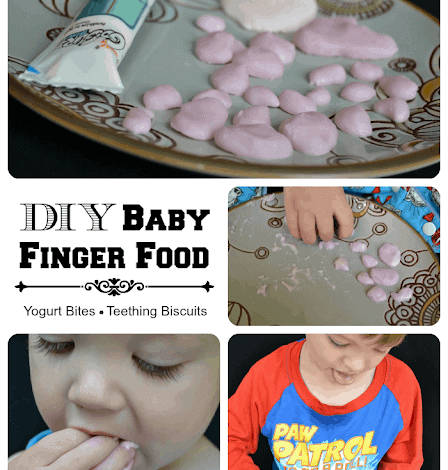 DIY Baby Finger Foods