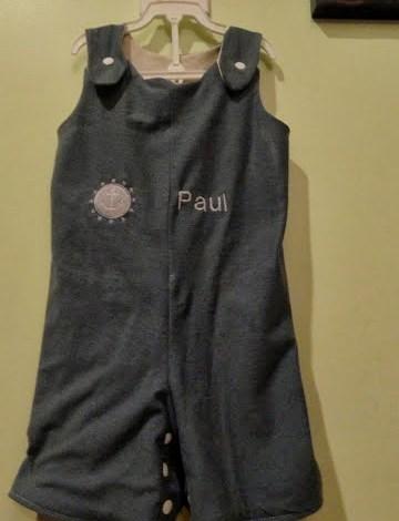 DIY: Teeshirt Upcycle to Baby Romper