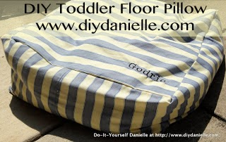 How to make your own floor pillow