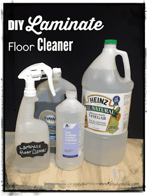 How to make your own cleaner for laminate floors