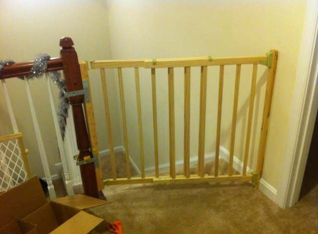 DIY Baby Proofing (We moved!)