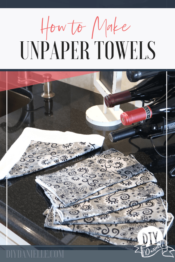 Unpaper towels are a great substitute for paper towels and can be washed over and over. What a great way to save money! Learn how to use and make unpaper towels here.