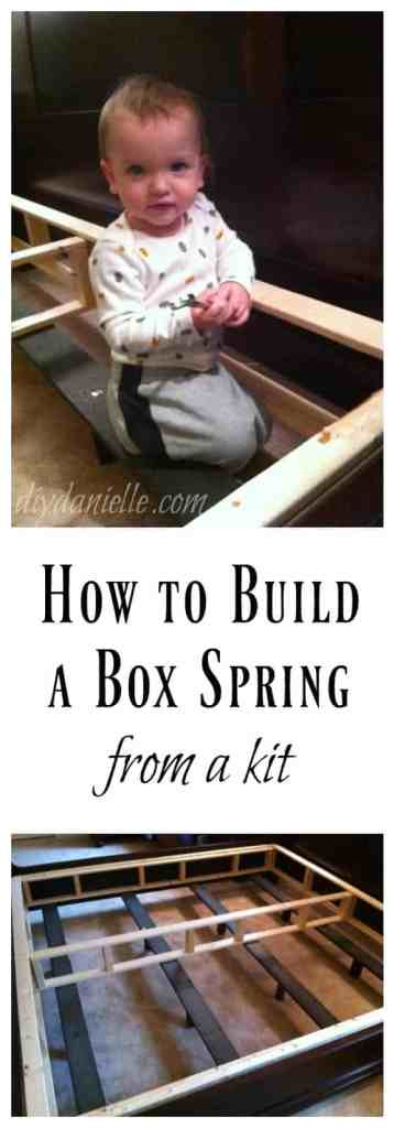 Simple Box Spring Kit Setup Instructions